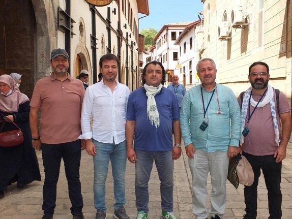 Konyalı Yazarlar Amasya ve Tokat'ı gezdi