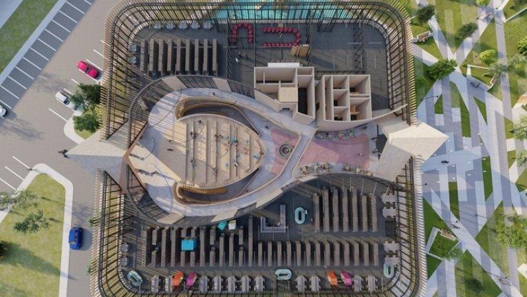 Recep Tayyip Erdoğan Millet Bahçesi'ne 5 bin 500 metrekarelik kütüphane kurulacak
