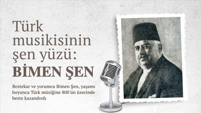 Türk musikisinin şen yüzü: Bimen Şen