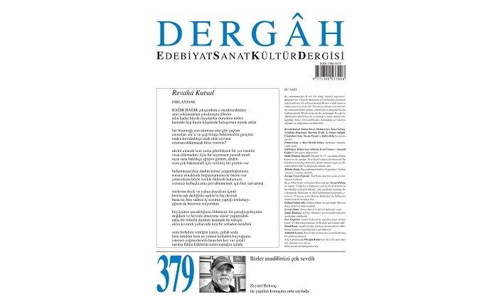 Dergâh Dergisi'nin 379. sayısı çıktı