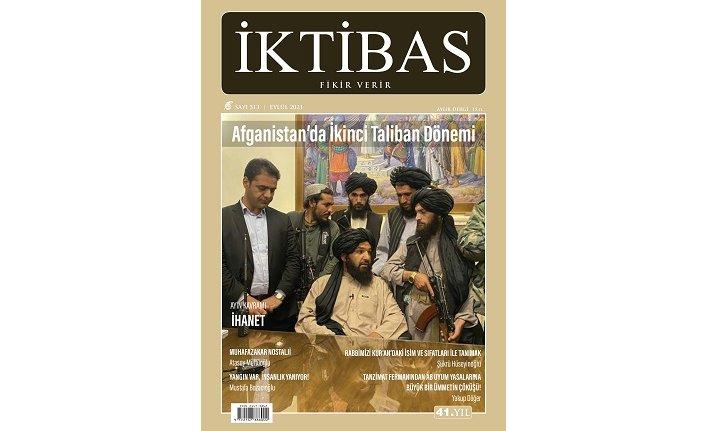 İktibas'ın Eylül sayısı çıktı