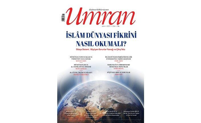Umran Dergisi Ekim 2021 sayısı çıktı!...