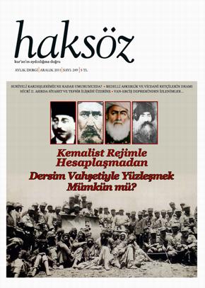 Haksöz dergisi 249. sayı