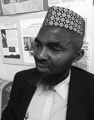 Kamerun Merkez Camii İmamı Aliou Youenyouene