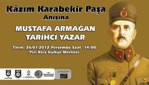 Mustafa Armağan Karaman'da