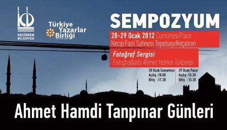 Tanpınar Ankara'da anılıyor