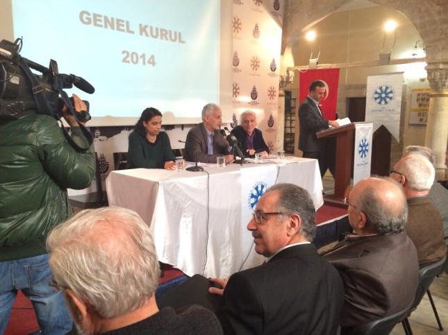 TYB İstanbul Şubesi yeni yönetimini seçti