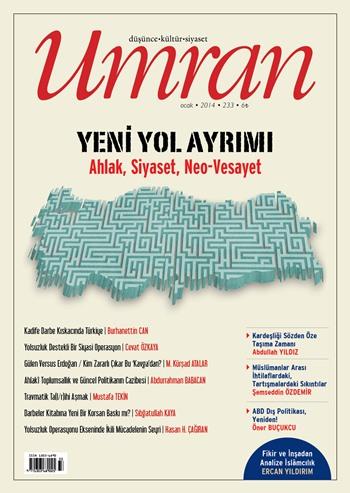 Umran dergisi Ocak sayısı çıktı!