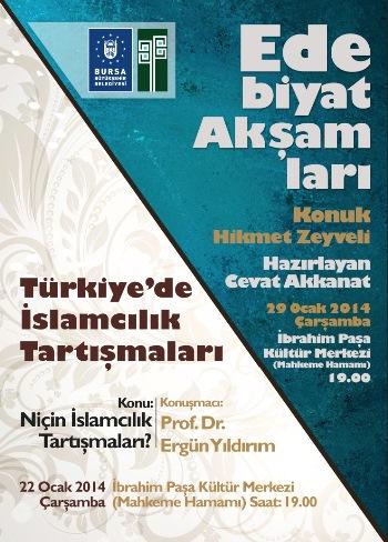 Ergün Yıldırım İslamcılığı anlatacak