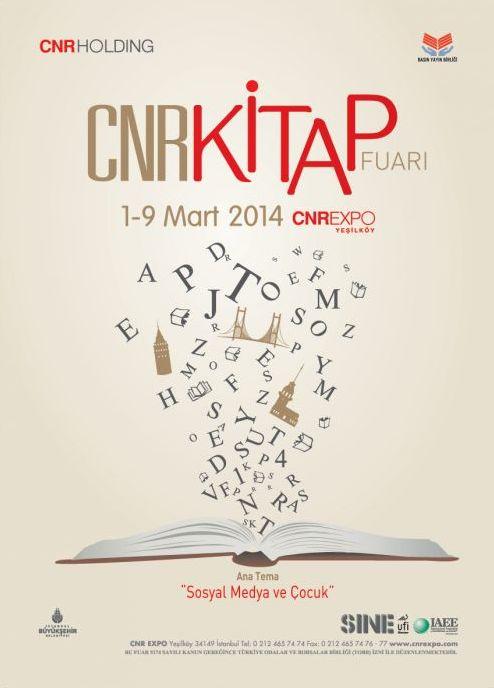 Kitapseverler 1-9 Mart'ta CNR Kitap Fuarı'nda buluşuyor