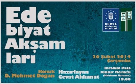 D. Mehmet Doğan Bursa'da
