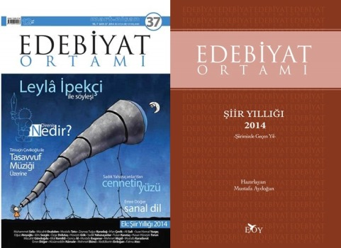 Edebiyat Ortamı Şiir Yıllığı çıktı