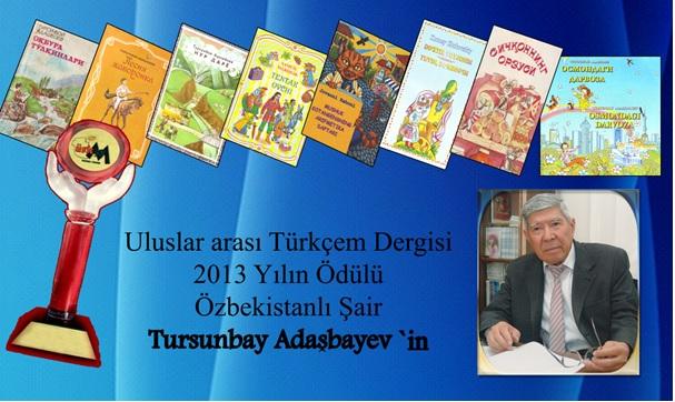 Özbek şaire Türkçem ödülü verildi