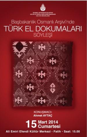 Ahmet Aytaç Türk el dokumalarını anlatacak