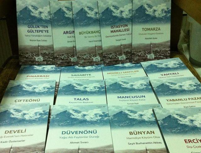 Şehir kitapları serisine Kayseri de eklendi