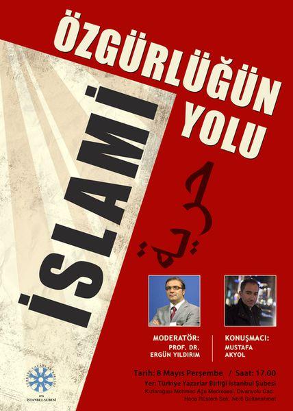 Mustafa Akyol TYB'de konuşacak