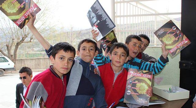 Karaman'da Yedi Güzel Adam soluğu