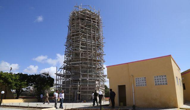 Somali'de 16. asırdan kalan bir cami de var