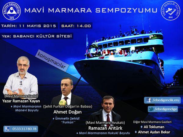 Kayseri'de Mavi Marmara konuşulacak