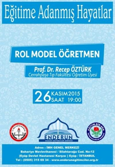 Rol model öğretmen