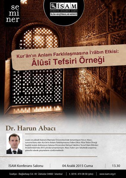 Kur'an'ın Anlam Farklılaşmasına İ'râbın Etkisi