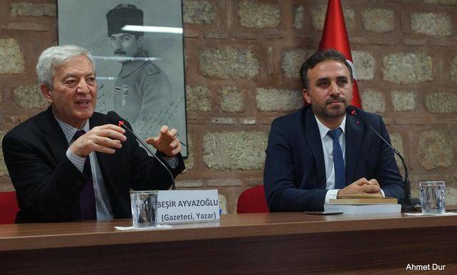 Beşir Ayvazoğlu İstanbul'u anlattı