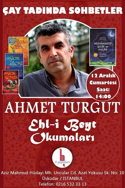 Ahmet Turgut Ehl-i Beyt'i anlatacak