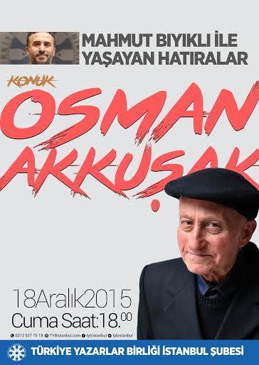 Osman Akkuşak ve hatıraları