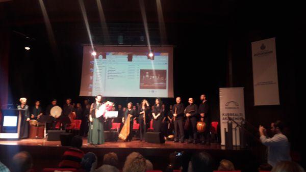 Ali Emiri'de Şeb-i Arus konseri düzenlendi