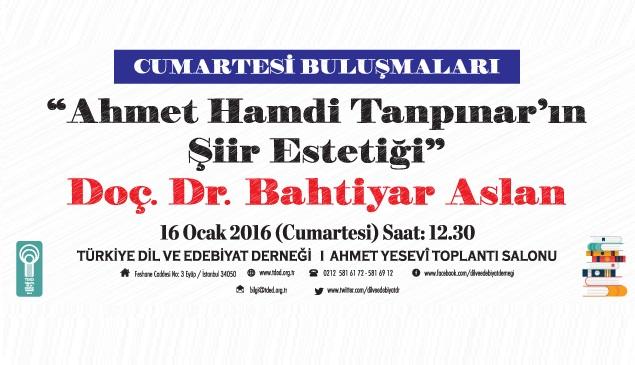 Ahmet Hamdi Tanpınar'ın şiir estetiği