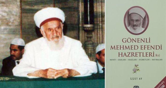 Gönenli Mehmed Efendi mahviyet ehli bir zat idi