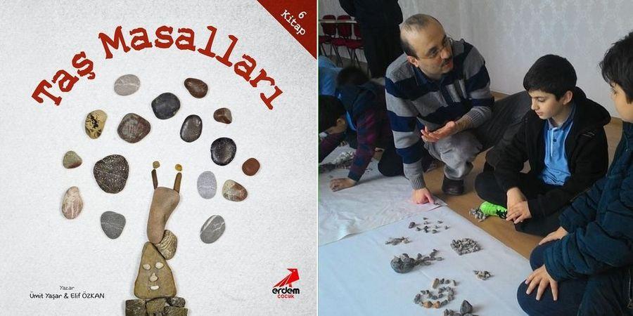 Nice Masal, Mesel ve Hikâye Biriktirir Taşlar Derununda