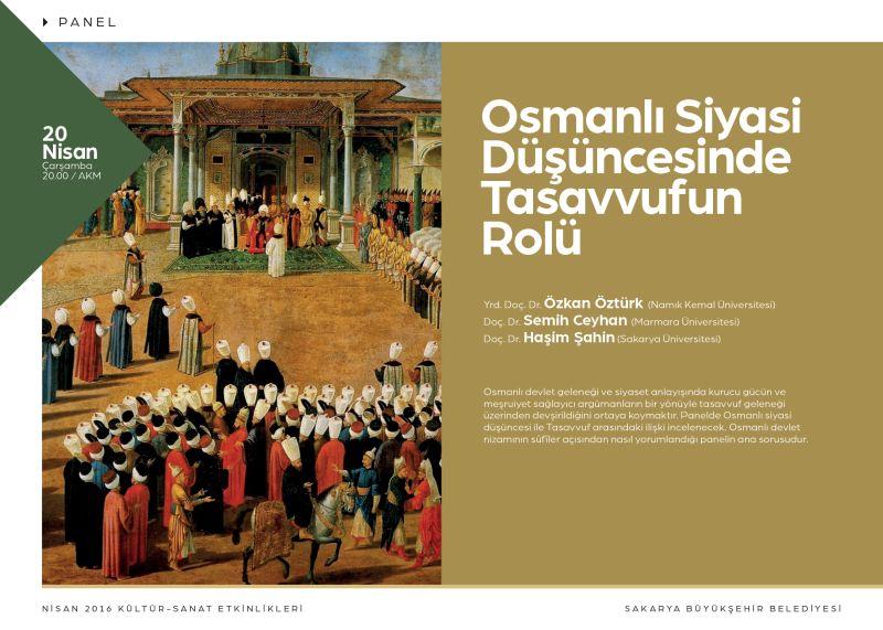 Osmanlı Siyasi Düşüncesinde Tasavvufun Rolü