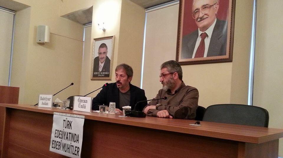 Ankara'daki Edebi Mahfiller Konuşuldu