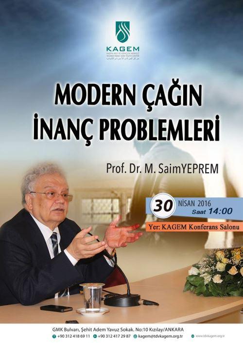 Modern çağın inanç problemleri