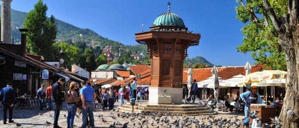 Bosna Hersek'in ve Balkanların İncisi: Saraybosna (video)