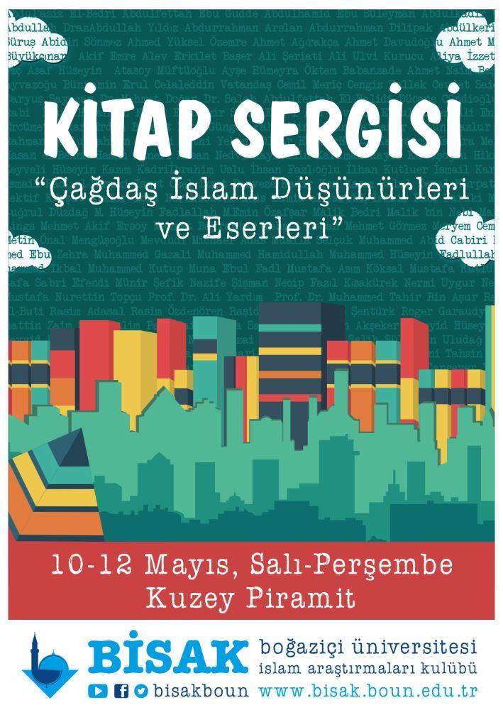 Çağdaş İslam Düşünürleri ve Eserleri kitap sergisi