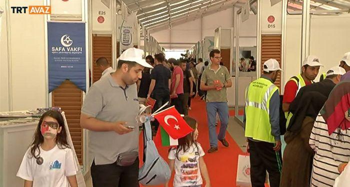 İstanbul Gençlik Fuarı'nda Aksa Çocukları Şenliği (video)