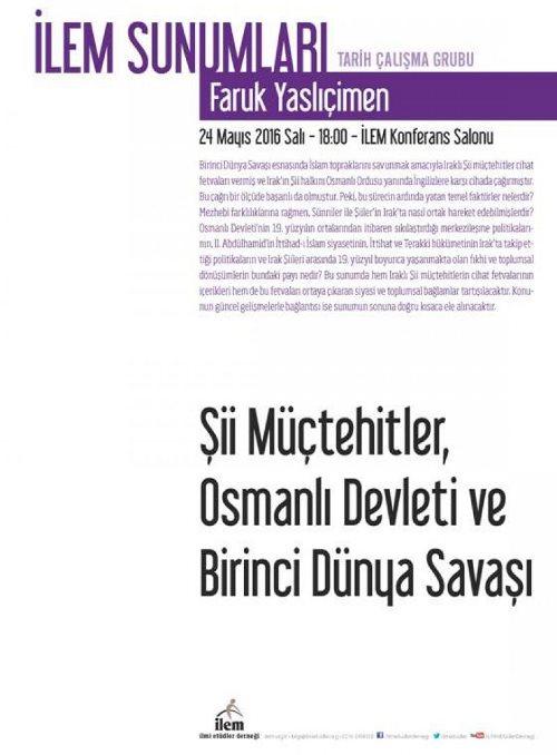 Osmanlı Devleti ve Birinci Dünya Savaşı