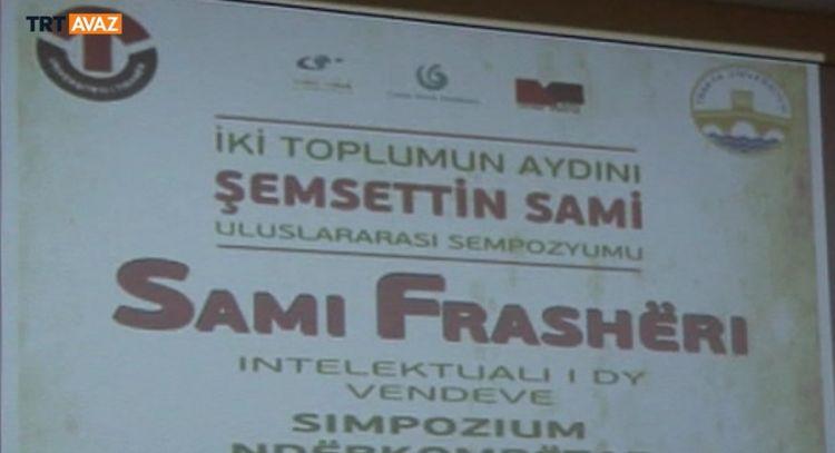 Tiran'da Şemseddin Sami Sempozyumu (video)