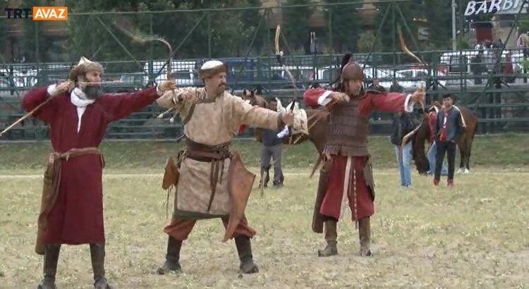 21. Okçuluk Festivali Kağıthane'de Düzenlendi (video)
