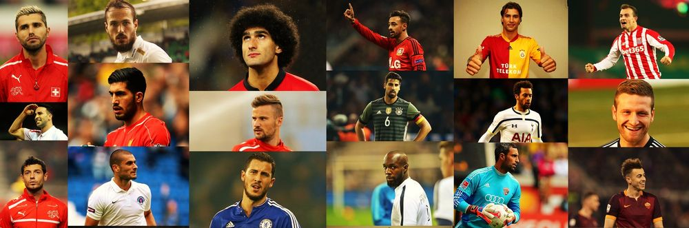 2016 Avrupa Futbol Şampiyonası'ndaki Müslüman Futbolcular