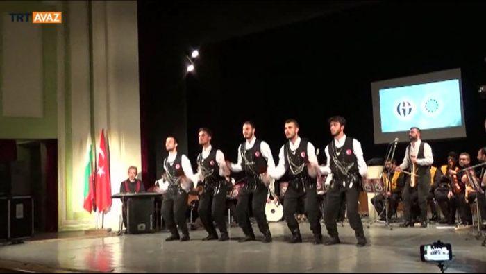 Kırcaali'de Türk Müziği Konseri (video)