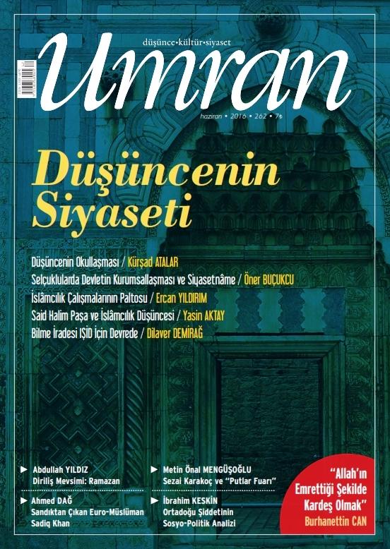 Umran dergisinin 262. sayısı çıktı