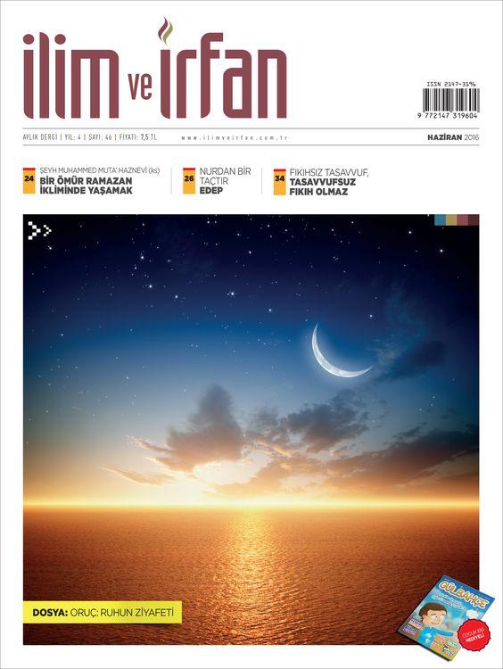 İlim ve İrfan dergisinden oruç dosyası