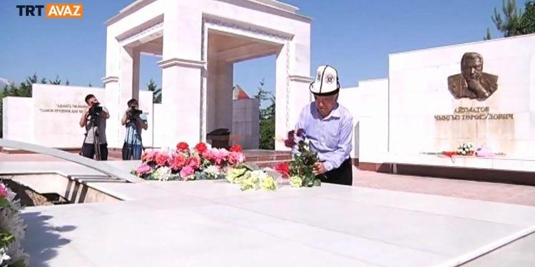 Cengiz Aytmatov Kırgızistan'da Anıldı (video)