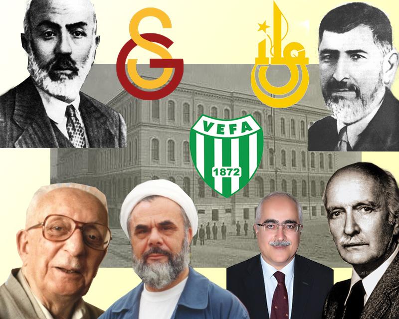 İstanbul Erkek Lisesi, Vefa, Galatasaray Mezunlarıyla Bizimdir