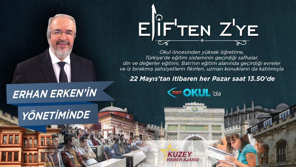 Elif'ten Z'ye TRT Okul'da devam ediyor
