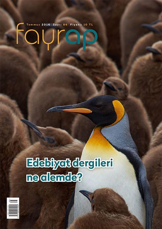 Fayrap dergisinin 86. sayısı çıktı