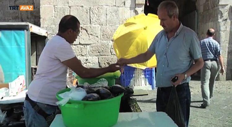 Kudüs'te Bir Şerbet Dükkanı (video)